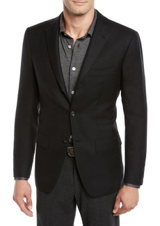 Kiton Men's Cashmere Three-Button Jacket