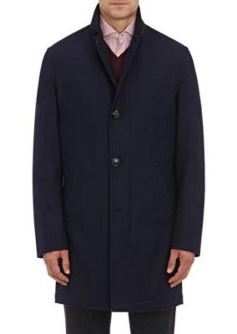 Kiton Men's Cashmere Zip-Front Jacket-NAVY Size 40