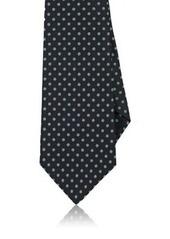 Kiton Men's Dotted Silk Necktie
