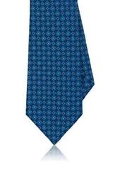 Kiton Men's Floral Silk Jacquard Necktie