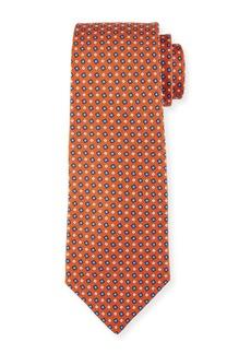 Kiton Micro-Box Silk Tie