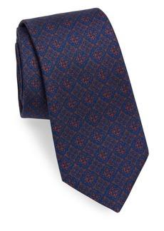 Kiton Mosaic Silk Tie