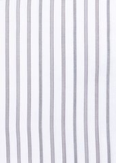 Kiton Multi-Stripe Cotton Dress Shirt