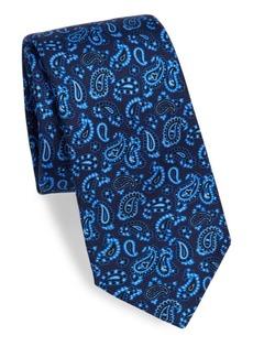 Kiton Silk Paisley Tie