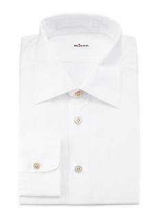 Kiton Poplin Dress Shirt