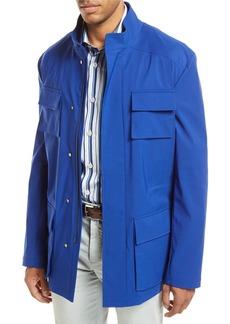 Kiton Safari Four-Pocket Coat
