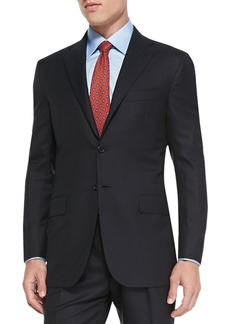 Kiton Solid Two-Piece Suit