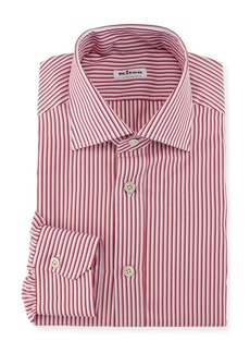 Kiton Striped Dress Shirt