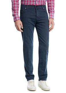 Kiton Twill Five-Pocket Jeans