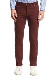 Kiton Twill Five-Pocket Pants