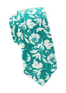 Kiton Large Floral Silk Tie