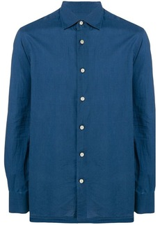 Kiton long-sleeve fitted shirt