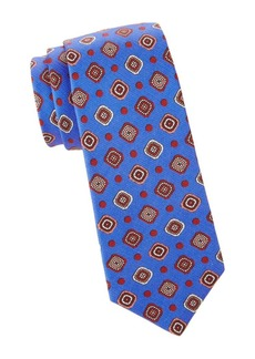 Kiton Mandala & Dot Silk Tie