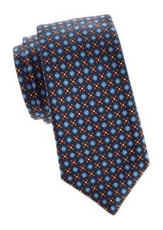 Kiton Medallion Silk Tie