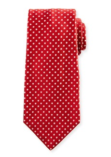 Kiton Medium-Dot Silk Tie