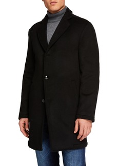 Kiton Men's Cashmere Single Breasted Coat
