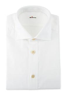Kiton Men's Cotton Oxford Dress Shirt