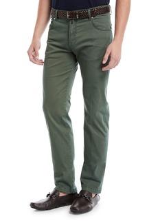 Kiton Men's Denim Five-Pocket Jeans