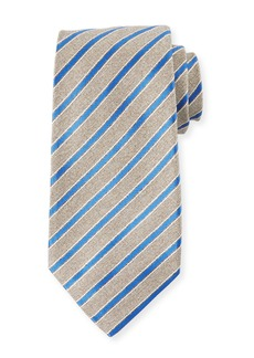 Kiton Men's Narrow Stripe Tie