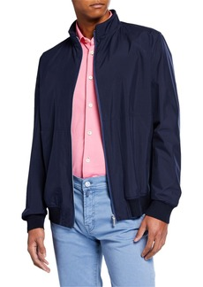 Kiton Men's Packable Bomber Jacket