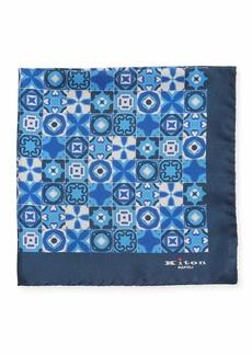 Kiton Men's Silk Multi-Shape Pocket Square