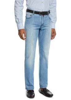 Kiton Men's Wash Denim Jeans