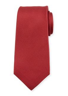 Kiton Micro Houndstooth Silk Tie