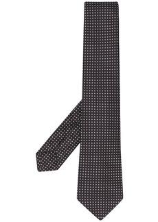 Kiton micro print tie