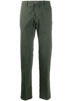 Kiton mid-rise slim-fit chinos