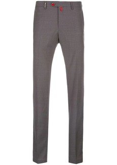 Kiton mid-rise slim-fit trousers