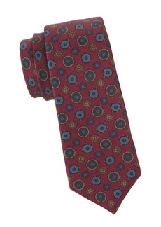 Kiton Mixed Mandala Silk Tie