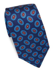 Kiton Ovals Silk Tie