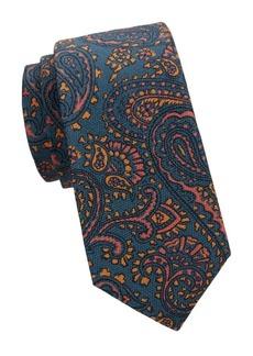 Kiton Paisley Silk Tie