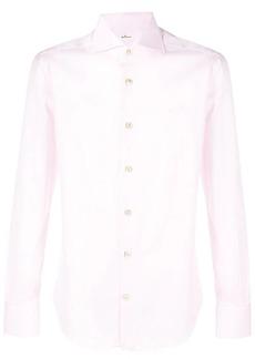 Kiton plain button down shirt