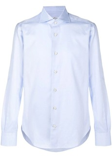 Kiton plain button down shirt