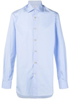 Kiton plain button shirt
