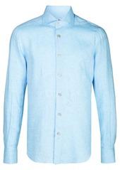 Kiton plain buttoned shirt