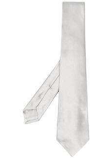 Kiton satin-effect tie