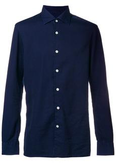 Kiton plain fitted shirt