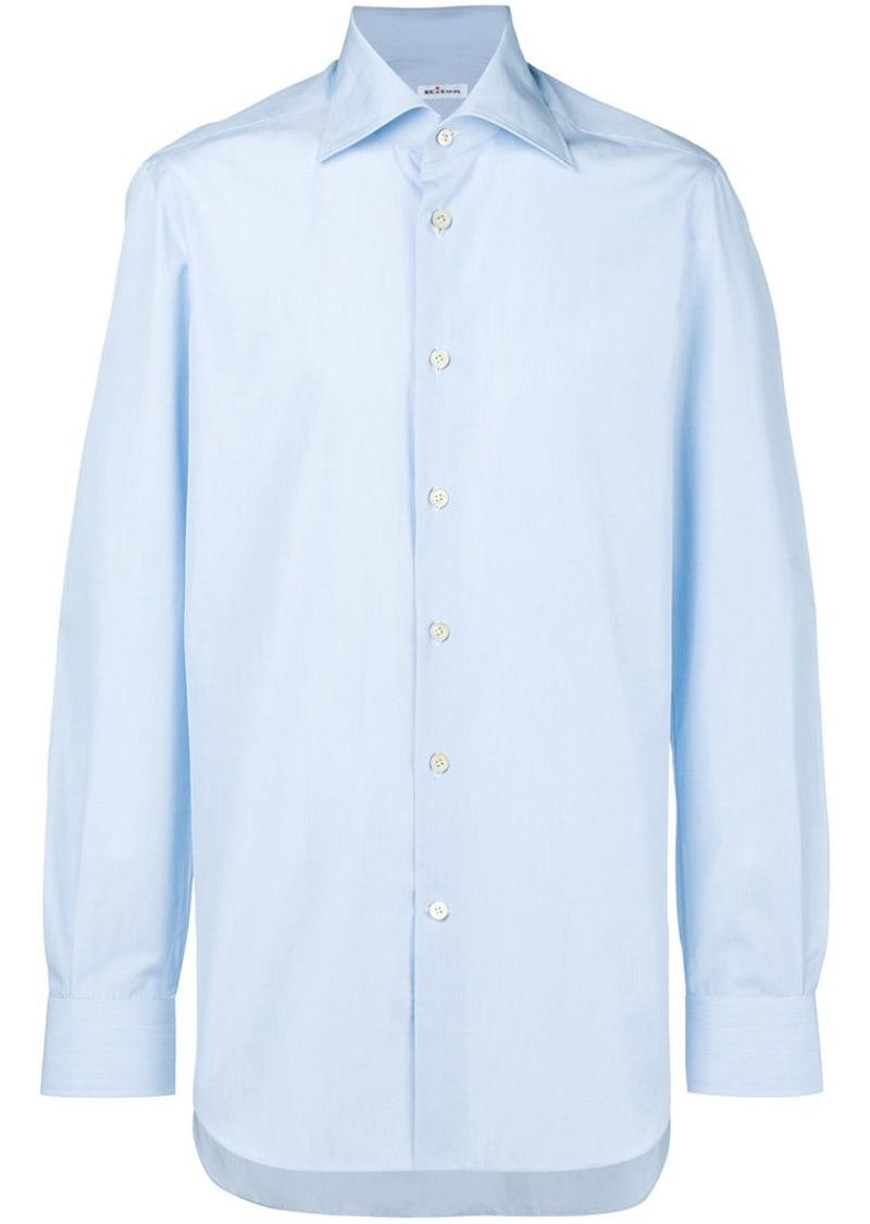 Kiton pointed collar shirt