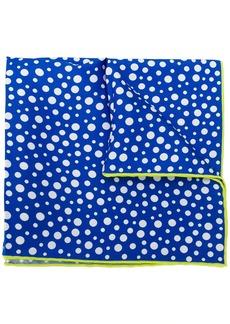 Kiton polka-dot handkerchief
