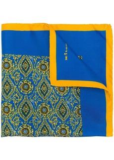Kiton printed scarf