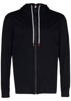 Kiton zip-up long-sleeve hoodie