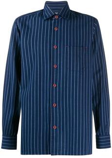 Kiton regatta stripes shirt
