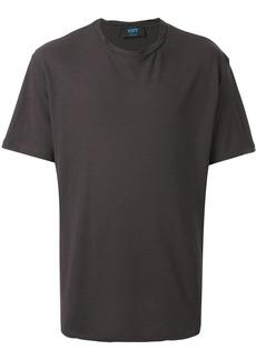 Kiton roll stitching collar T-shirt