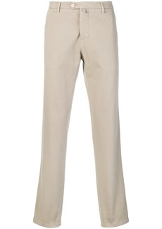 Kiton slim denim chinos