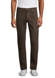 Kiton Slim-Fit Five-Pocket Jeans