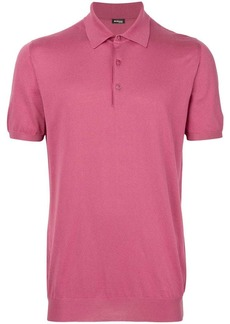 Kiton slim fit polo shirt