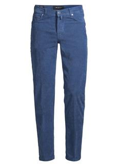Kiton Slim-Fit Stretch-Cord Pants
