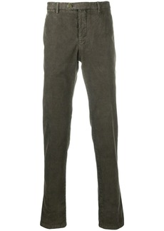 Kiton slim fit trousers